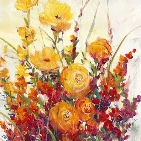 Mixed Bouquet I Digital Print by O'Toole, Tim,Impressionism