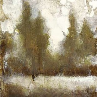 Gilded Tree Silhouette II Digital Print by O'Toole, Tim,Impressionism