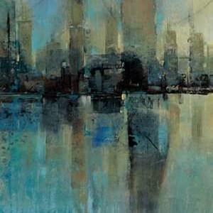 Downtown II Digital Print by O'Toole, Tim,Impressionism