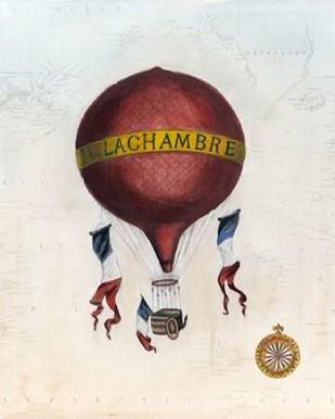 Vintage Hot Air Balloons III Digital Print by McCavitt, Naomi,Decorative