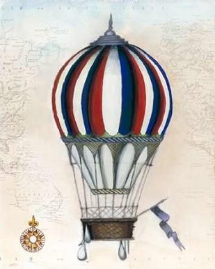 Vintage Hot Air Balloons VI Digital Print by McCavitt, Naomi,Decorative