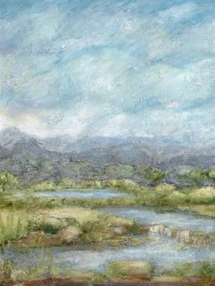 Green Pastures I Digital Print by Crawford, Beverly,Impressionism