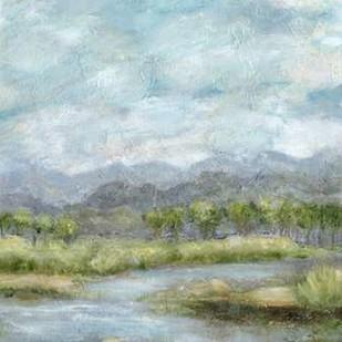 Green Pastures II Digital Print by Crawford, Beverly,Impressionism