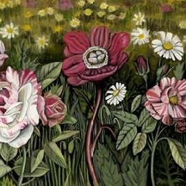 Vintage Garden I Digital Print by McCavitt, Naomi,Impressionism