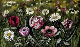 Vintage Garden II Digital Print by McCavitt, Naomi,Impressionism