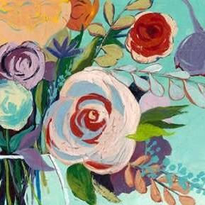 Vivid Convergence I Digital Print by Popp, Grace,Decorative