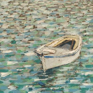 On The Pond II Digital Print by Meagher, Megan,Impressionism