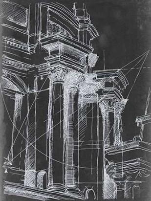 Architectural Schematic I Digital Print by Harper, Ethan,Illustration
