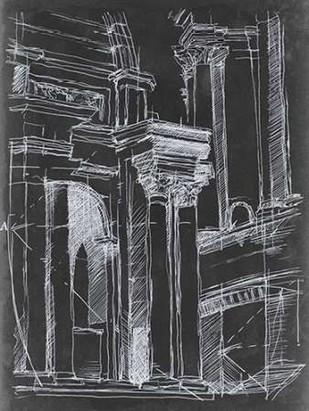 Architectural Schematic II Digital Print by Harper, Ethan,Illustration