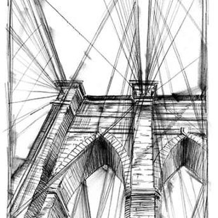 Graphic Architectural Study III Digital Print by Harper, Ethan,Illustration