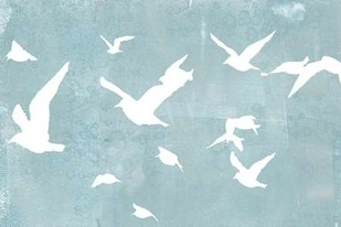 Silhouettes in Flight I Digital Print by Goldberger, Jennifer,Decorative