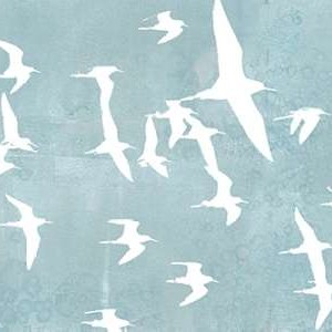 Silhouettes in Flight II Digital Print by Goldberger, Jennifer,Decorative