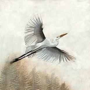 Waterbirds in Mist I Digital Print by McCavitt, Naomi,Decorative