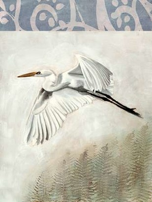 Waterbirds in Mist II Digital Print by McCavitt, Naomi,Decorative