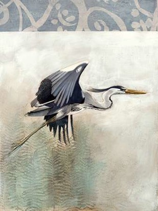 Waterbirds in Mist III Digital Print by McCavitt, Naomi,Decorative