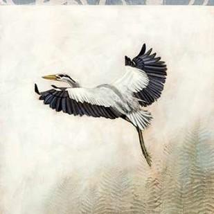 Waterbirds in Mist IV Digital Print by McCavitt, Naomi,Decorative