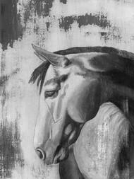 Dappled Grey I Digital Print by McCavitt, Naomi,Impressionism