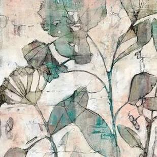 Negative Space Floral I Digital Print by Goldberger, Jennifer,Impressionism