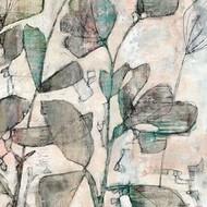 Negative Space Floral II Digital Print by Goldberger, Jennifer,Impressionism
