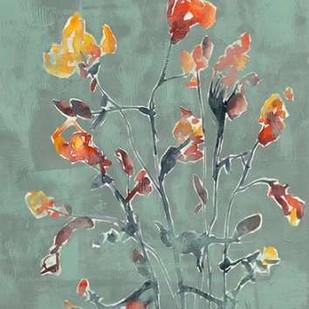 Wildflower Watercolors I Digital Print by Goldberger, Jennifer,Impressionism