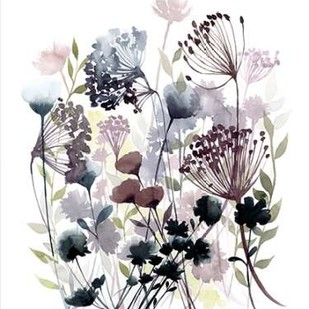 Swaying Florets I Digital Print by Popp, Grace,Decorative