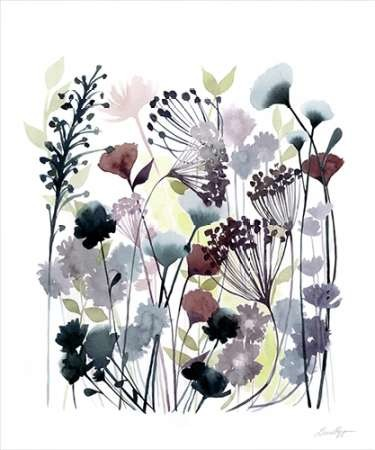 Swaying Florets II Digital Print by Popp, Grace,Decorative