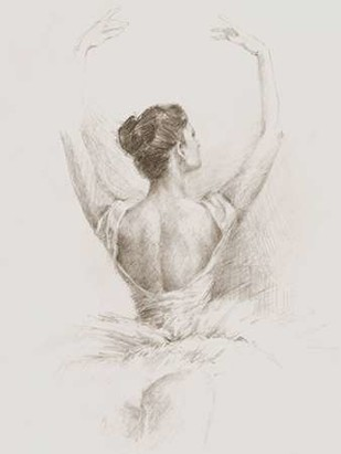 Dance Study I Digital Print by Harper, Ethan,Illustration