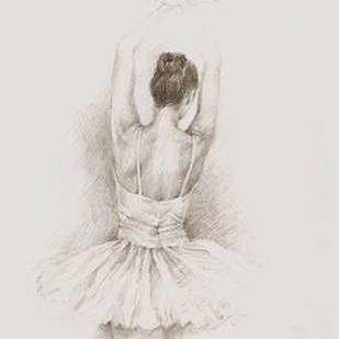 Dance Study II Digital Print by Harper, Ethan,Illustration