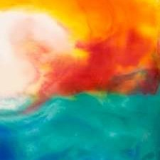 Marsh Sunrise II Digital Print by Ludwig, Alicia,Abstract