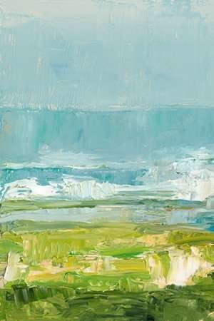 Coastal Overlook I Digital Print by Harper, Ethan,Impressionism