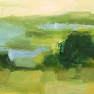 Emerald Wetlands I Digital Print by Harper, Ethan,Abstract