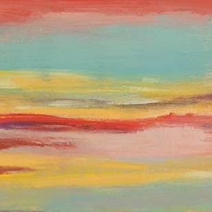 Sunset Study V Digital Print by Goldberger, Jennifer,Abstract