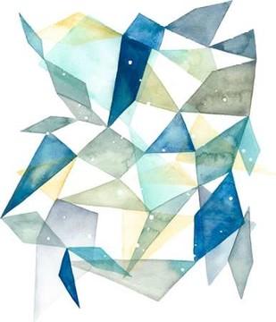 Geometric Jewel Abstract I Digital Print by Popp, Grace,Abstract