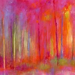Stopping by Woods to Celebrate Digital Print by Bothne, Janet,Impressionism