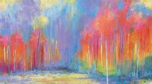 Woods Splash Digital Print by Bothne, Janet,Impressionism