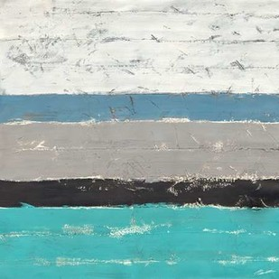 Seawall II Digital Print by Butler, John,Abstract