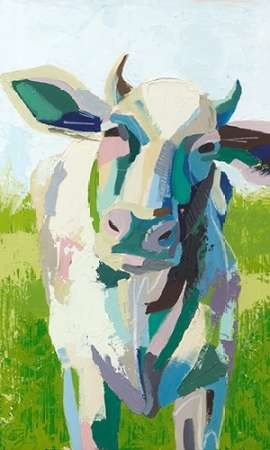 Painterly Cow II Digital Print by Popp, Grace,Pop Art