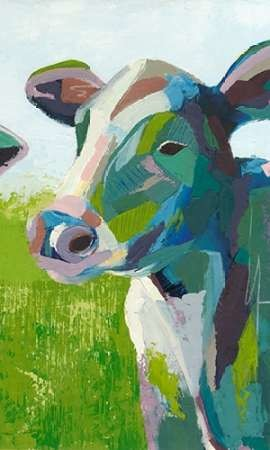 Painterly Cow III Digital Print by Popp, Grace,Pop Art