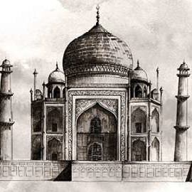 World Landmarks IV Digital Print by Popp, Grace,Illustration