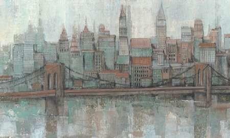 City Center II Digital Print by O'Toole, Tim,Impressionism
