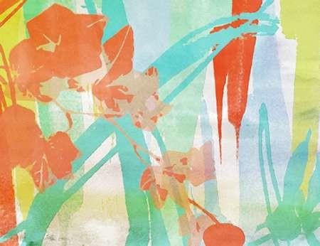 A Leaf Was Born I Digital Print by Orlov, Irena,Abstract