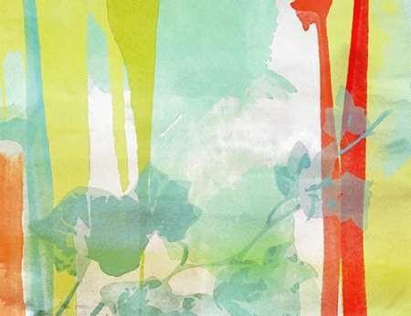 A Leaf Was Born II Digital Print by Orlov, Irena,Abstract