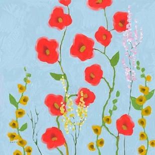 Bright Stems IV Digital Print by Novak, Rick,Decorative