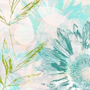 Azulejo II Digital Print by Aryai, Sia,Impressionism, Impressionism