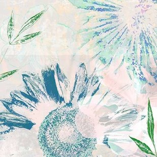 Azulejo III Digital Print by Aryai, Sia,Impressionism, Impressionism