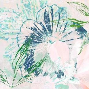 Azulejo IV Digital Print by Aryai, Sia,Impressionism
