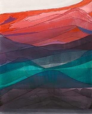 Red Hills I Digital Print by Fuchs, Jodi,Impressionism