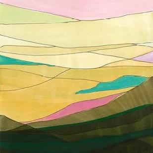 Pink Hills I Digital Print by Fuchs, Jodi,Minimalism
