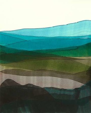 Blue Hills I Digital Print by Fuchs, Jodi,Minmalism