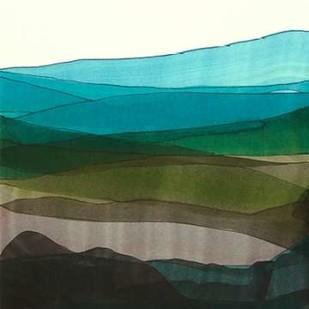 Blue Hills I Digital Print by Fuchs, Jodi,Minimalism